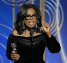 """The new day is on the horizon "" Oprah Winfrey supporting women on ""Golden Globes """