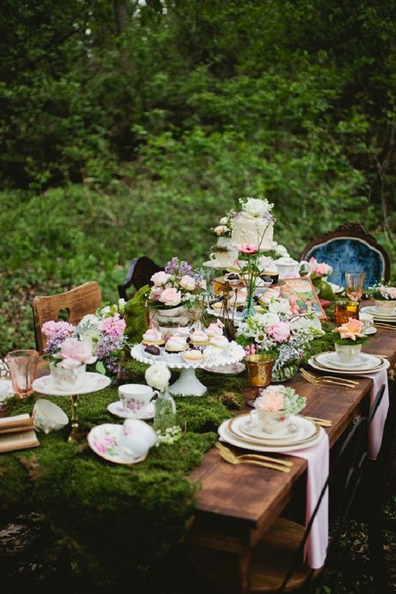 sophisticated garden vintage party ideas natali s blog