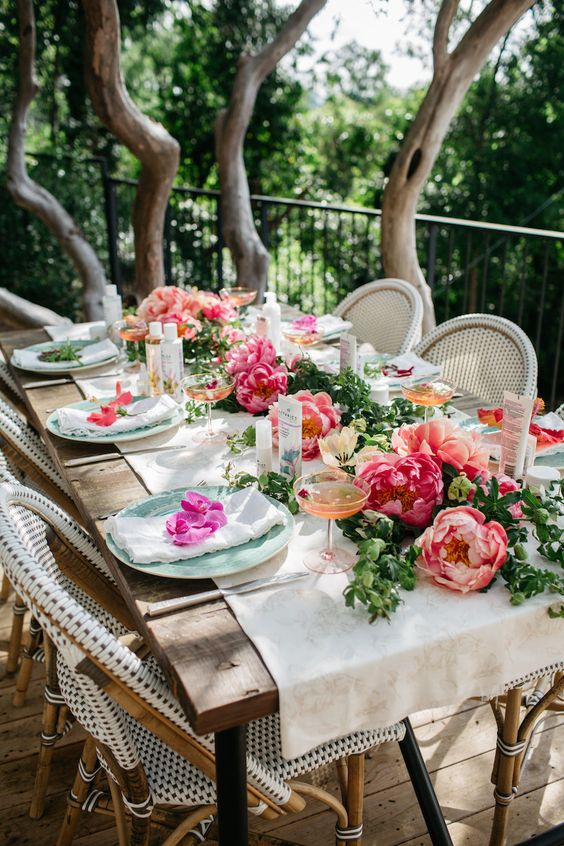 Sophisticated Garden Vintage Party Ideas Natalis Blog